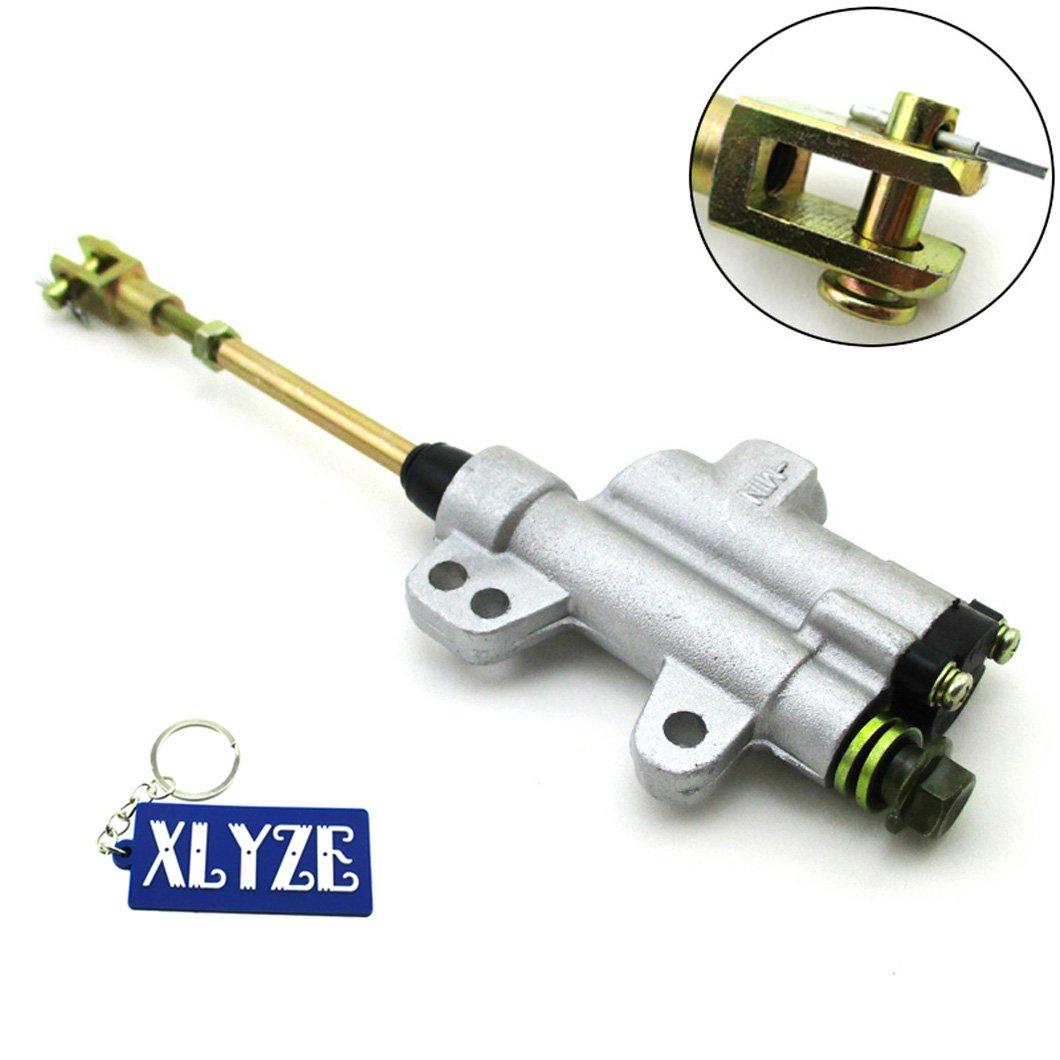 XLYZE Rear Brake Master Cylinder Pump para chino CRF50 XR50 KLX TTR 90cc 110cc 125cc 140cc SSR YCF Apollo IMR Pit Dirt Bike