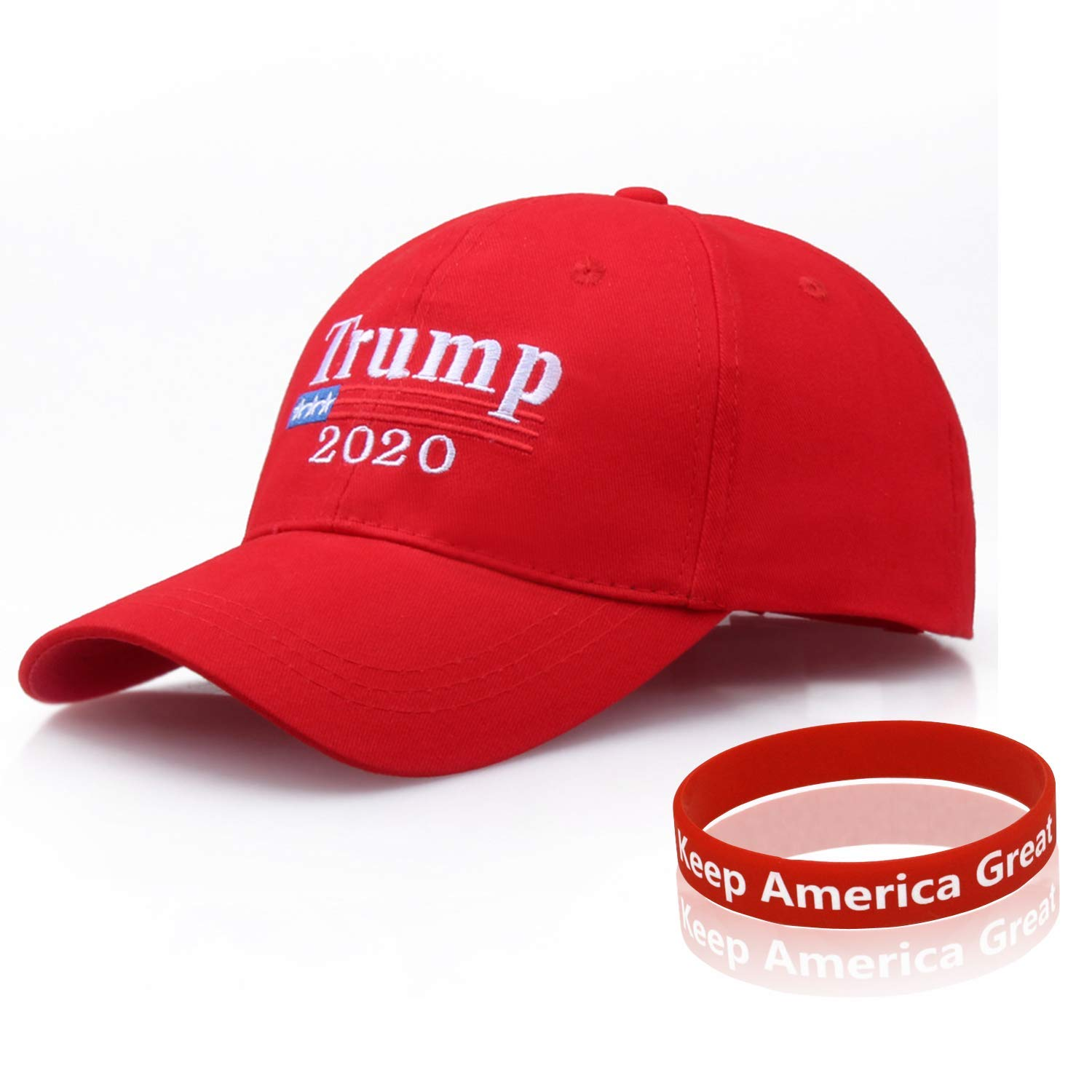 Trump 2020 Hat, Donald Trump Hat Cap, Adjustable Baseball Hat Wristband