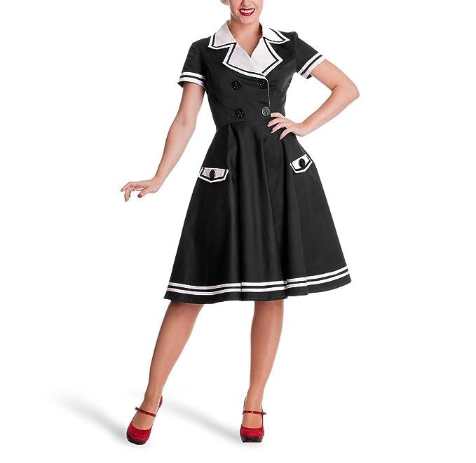 comprare in vendita stile classico cerca genuino Vestito rockabilly alla marinara - Stile anni 50 - Look pin ...