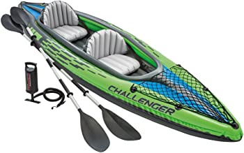 Intex Challenger K2 2-Person Inflatable Kayak Set