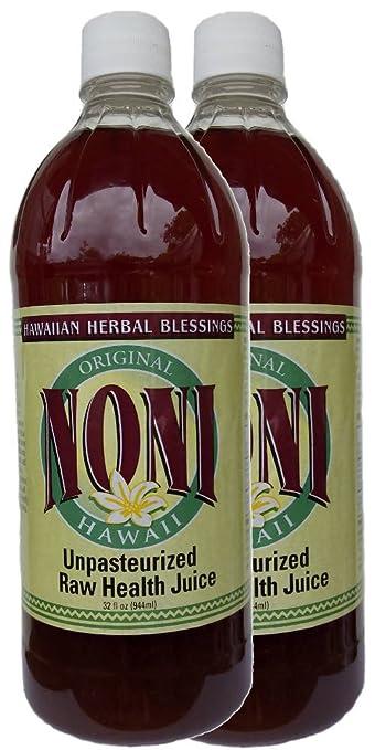 RAW unpasteurized Fermentado 100% puro jugo de Noni ...