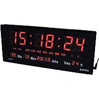 Sanda SD-0015 Reloj Digital de Pared y Mesa