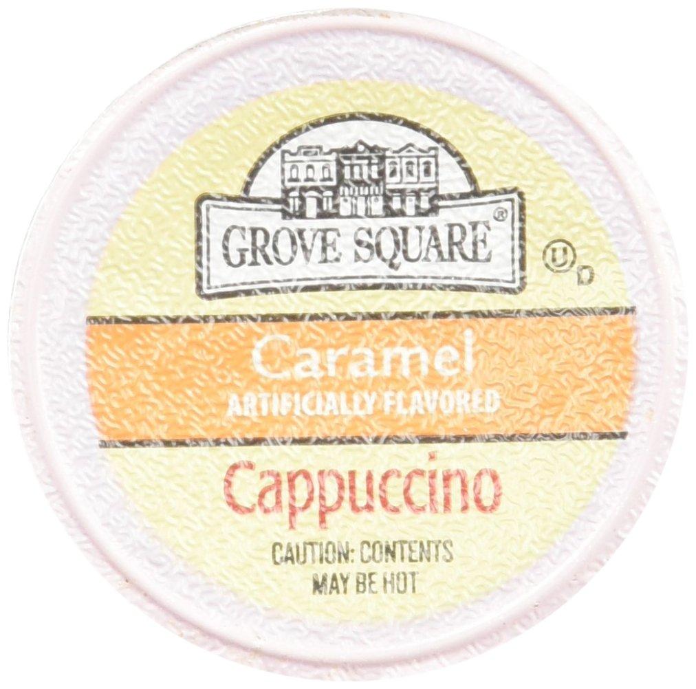 Grove Square Caramel Cappuccino 96 Single Serve Cups