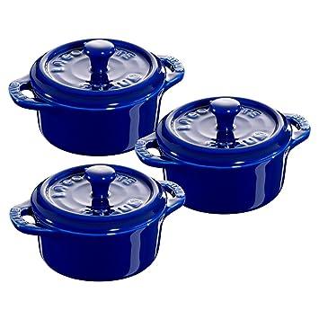 Amazon.com: Staub - Juego de copas de cerámica (3 piezas ...