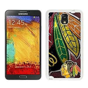 Samsung Note 3 Case,Chicago Blackhawks White For Samsung Note 3 Case WANGJING JINDA