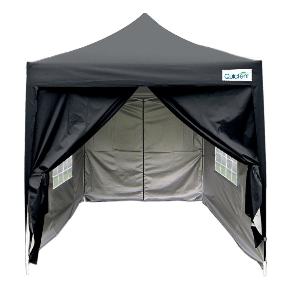 Quictent Silvox 6.6' X 6.6' Ez Set Pop up Gazebo Party Wedding Tent Canopy Marquee +4 Sidewalls +carry Bag 100% Waterproof …