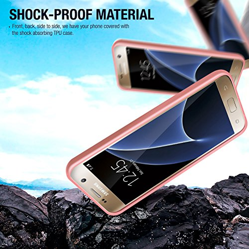 Caja de la galaxia Plus S8, Cellto ultra delgado [antideslizante] flexible de TPU Protección gota la cubierta del gel de cuerpo para Samsung Galaxy S8 Plus - claro transparente Bebé rosa