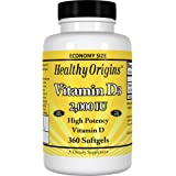 VITAMINA Healthy Origins Vitamin D-3 2000iu x 360 Softgels