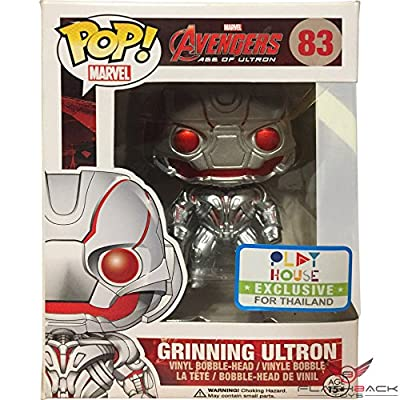 Funko Pop! Marvel #83 Avengers Age of Ultron Grinning Ultron (2015 SDCC Exclusive): Toys & Games