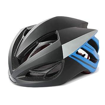 TESITE Casco De Bicicleta Ajustable Desmontaje Gafas De Seguridad Transpirable Sombrero para Hombres Y Mujeres: Amazon.es: Hogar