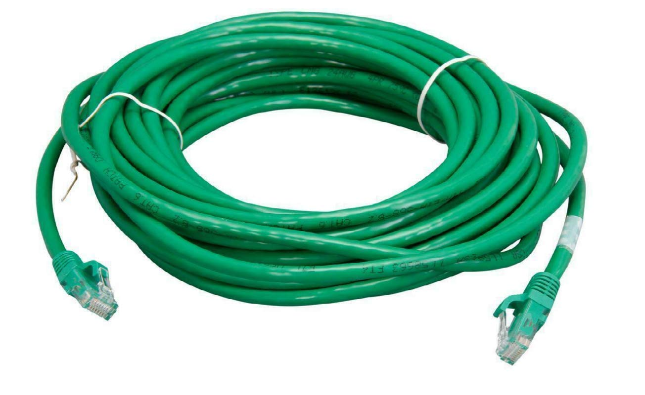 Northreps 03997 Cat6 Cable Green Snagless Unshielded Ethernet Network Patch Cable