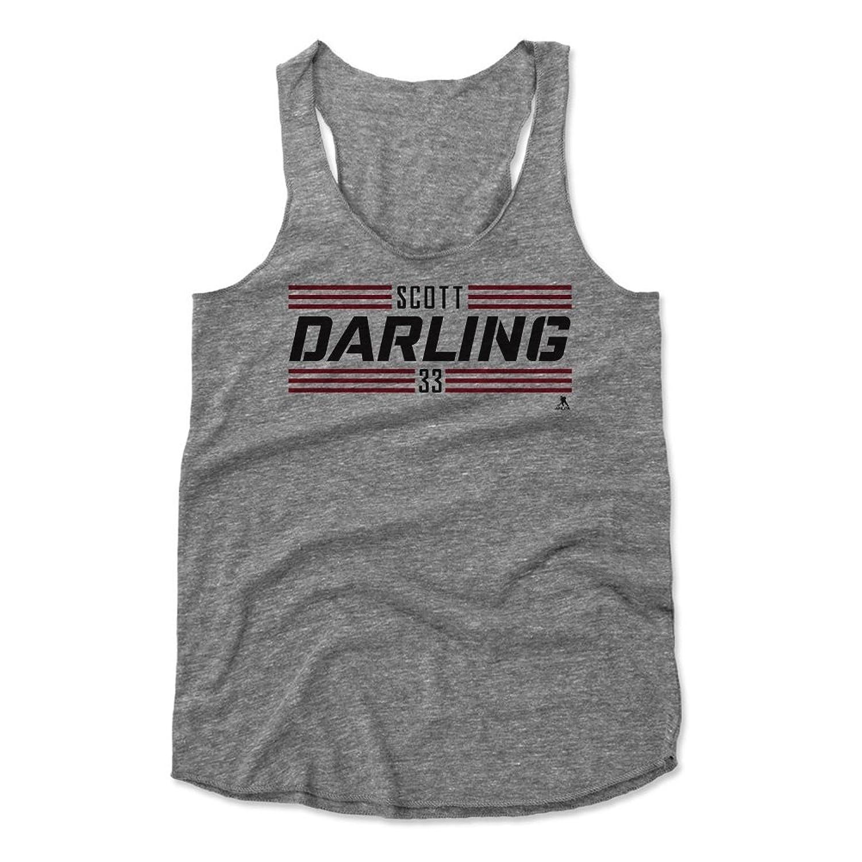 Scott Darling Striped Font K Chicago Women's Tank Top