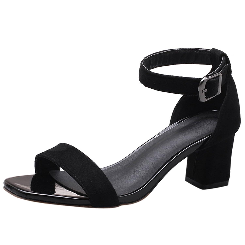 Y2Y Studio - Sandalias de Vestir de Material Sintético Mujer Envio gratis.  Buena ChunSe Sandalias de Tacón Alto ... 42711957dd89