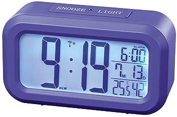 Hama RC 660 Digital, Ajuste automático Hora (Dos Relojes de Alarma, Despertador,
