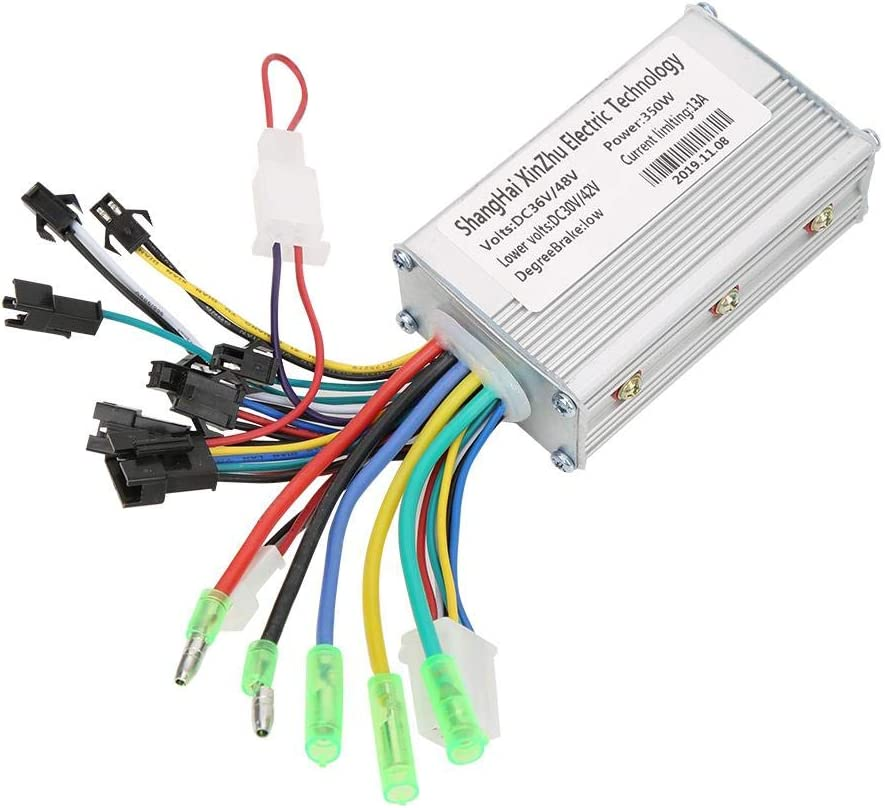 350W 36V//48V Brushless Motor Controller with Waterproof LCD Display Panel for Electric Bicycle Scooter MAGT Brushless Controller