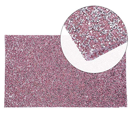 EBANKU Shiny Nail Art Table Mat, Foldable Nail Art Hand Pad Salon Practice Cushion Pad Portable Nail Art Manicure Tool