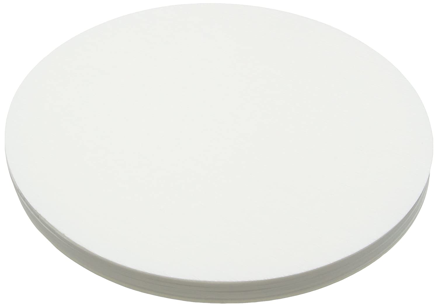 Camlab 1171139 Grade 304 [113] Technical Grade Creped Filter Paper, 40 mm Diameter (Pack of 100)