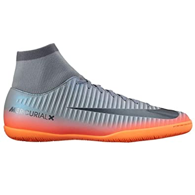 219f2e05ed Nike Men s Mercurialx Victory Vi Cr7 Dynamic Fit Indoor Cool Grey Metalic  Hematite Wolf