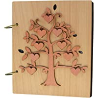 Giftgarden Photo Album Heart Fruit of Family Tree Picture Albums 120 Pockets