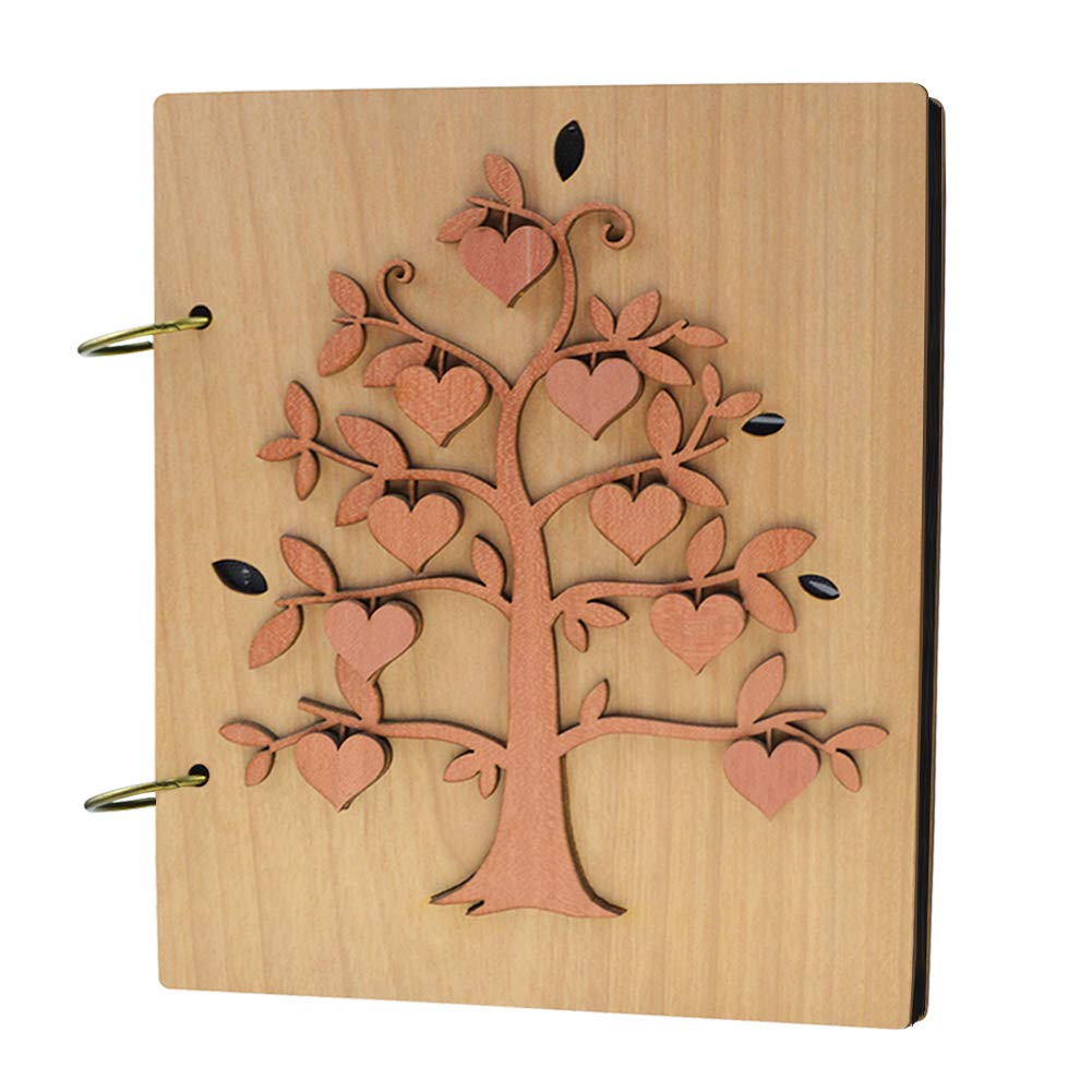 Giftgarden 4x6 Family Tree Photo Album 120 Pockets Photo Book for 4 x 6 Inch Picture Sainthood C170602
