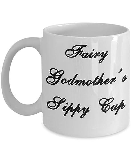 Amazoncom Funny Fairy Godmother Mug Fairy Godmothers