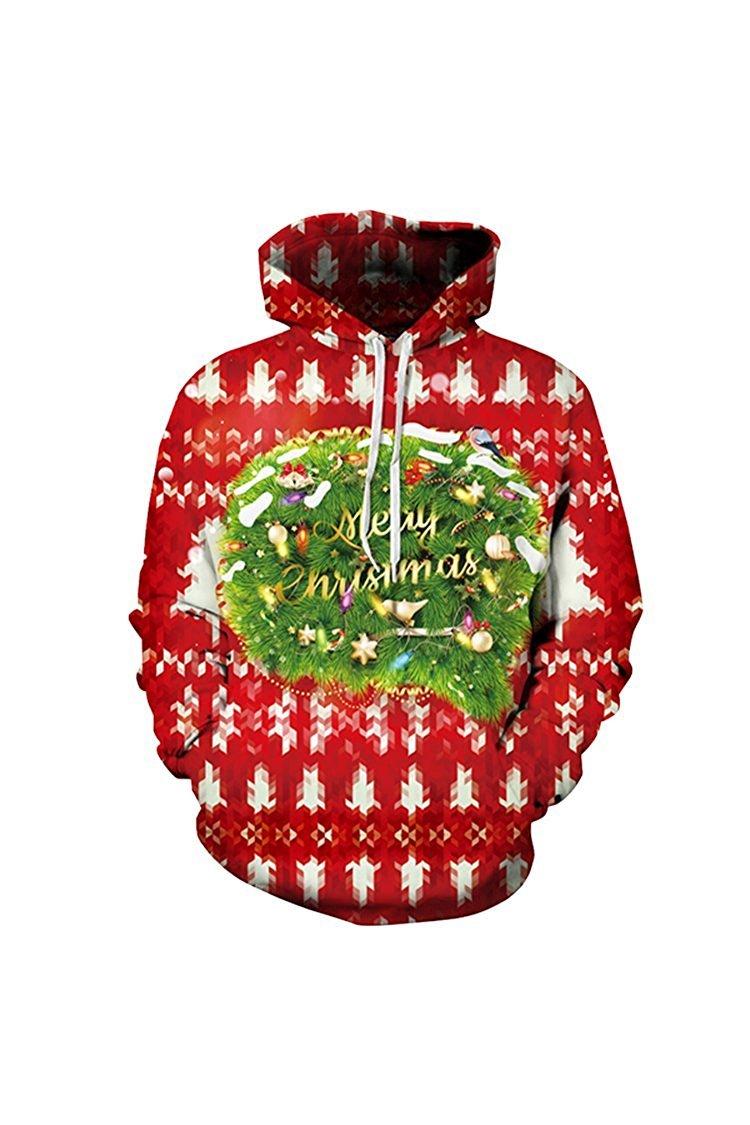 Lacostew SWEATER レディース B074PJZX3V L Christmas Greeting Christmas Greeting L