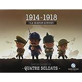 14-18 la Grande Guerre-Coffret 4 Livres Jeunesse