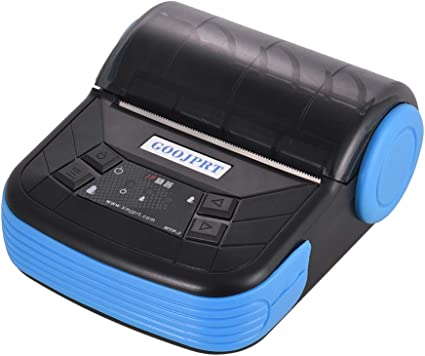 Amazon.com: GOOJPRT MTP-3 80mm BT Thermal Printer Portable ...