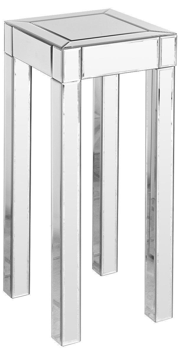 Febland Mirrored Pedestal Table, Glass, Tall FM275L