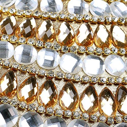 del Bolsa del Lujo 1 De Flecos De De Bolsa Noche De Diamantes Color 2 La Club Seora Bolsos HKC Nocturno con Seora Noche Moda De Nueva Salvaje Banquete qUpPB
