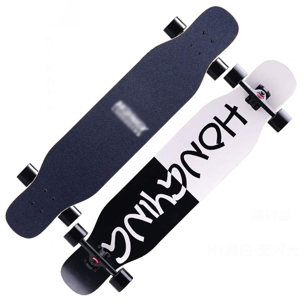 人気ブランドを B07NRLT798 DUWENDUWEN スケートボードロングボード初心者大人の男の子と女の子のブラシストリートダンスボード10代の若者たち四輪スクーター B07NRLT798, カウリ ドロップ:dad744e9 --- a0267596.xsph.ru