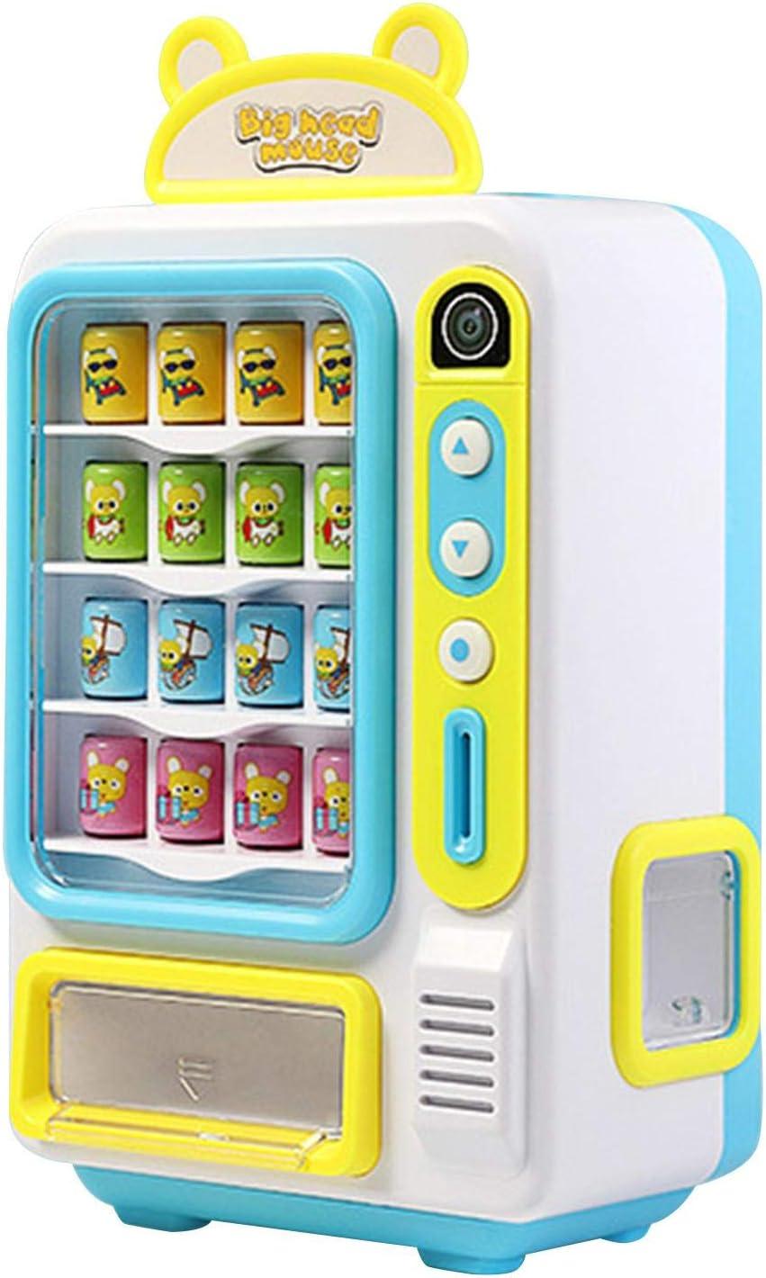 Findema Máquinas expendedoras de autoservicio para niños, máquinas de Bebidas, máquinas de Bebidas electrónicas, pequeñas máquinas expendedoras, Juguetes domésticos