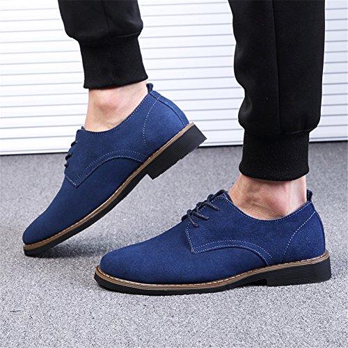 Respirant Hommes Business Bleu Lace New Work Noir Brown Deck Shoes Daim Printemps Oxfords Occasionnels Une up Confort Chaussures Formel 2018 Automne YSZqBZx