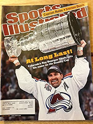 Sports Illustrated June 18, 2001 Ray Bourque Colorado Ex