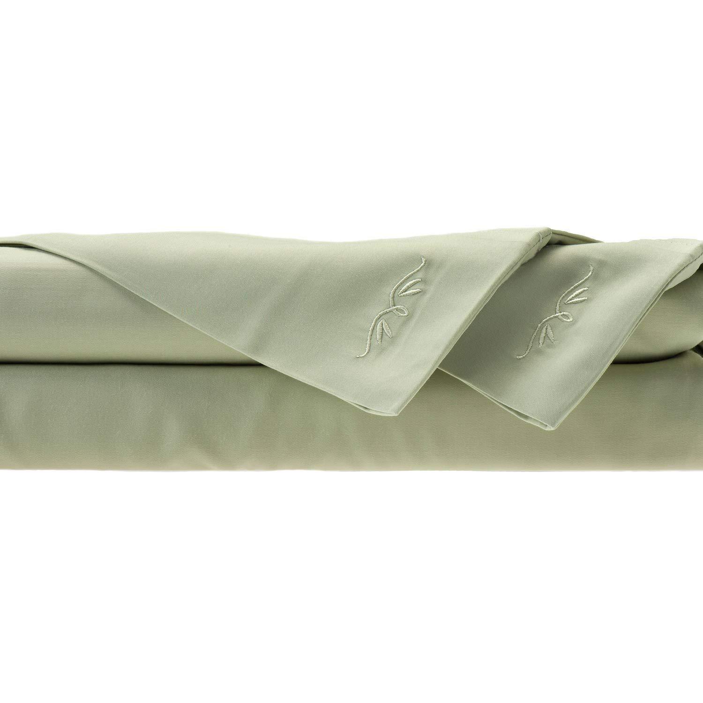 Sage Split King BedVoyage Sheet Set, Butter, King