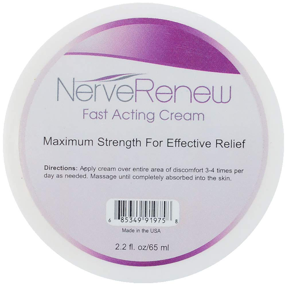 Life Renew: Cream - Topical Nerve Pain Relief Formula - Breakthrough Delivery System for Fast Acting Results by LifeRenew
