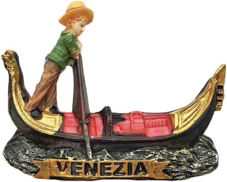 Venice Venezia Italy Refrigerator Magnet 3D Gondola Travel Sticker Souvenirs,Resin Home & Kitchen Decoration,Italy Fridge Magnet from China