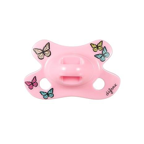 Difrax 796B03 - Chupete dental para bebés niñas, rosa ...
