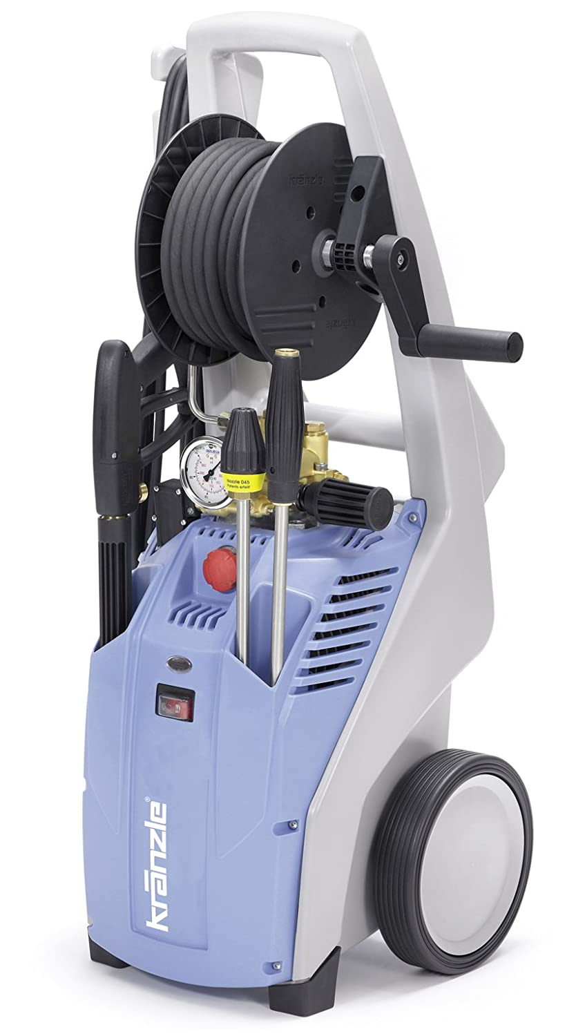 NaceCare K-1122 TST Pressure Washer with Total Stop, 2.1 GPM Pump Flow, 1400 PSI