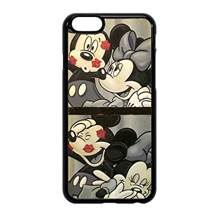 Coque Etui Cover Caoutchouc Pour Samsung Iphone Mickey Minnie Mouse