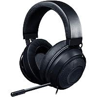 Razer Kraken Gaming Headset 2019 - [Negro] [marco de aluminio ligero] [micrófono de cancelación de ruido retráctil] [para PC, Xbox, PS4, Nintendo Switch]
