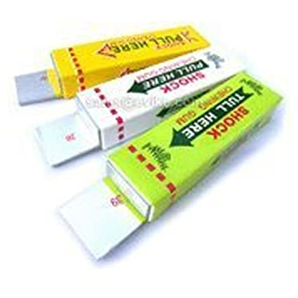 Gum that squirts
