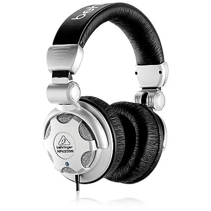 cf04320f5e4 Amazon.com: Behringer HPX2000 Headphones High-Definition DJ Headphones:  Musical Instruments
