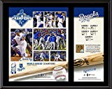 """Kansas City Royals 2015 MLB World Series Champions 12"""" x 15"""" Sublimated Plaque with a Piece of Game-Used World Series Dirt"""