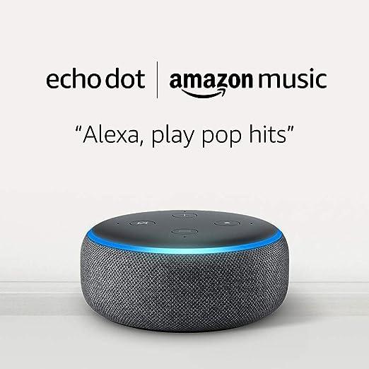Echo Dot 3rd Generation - Charcoal