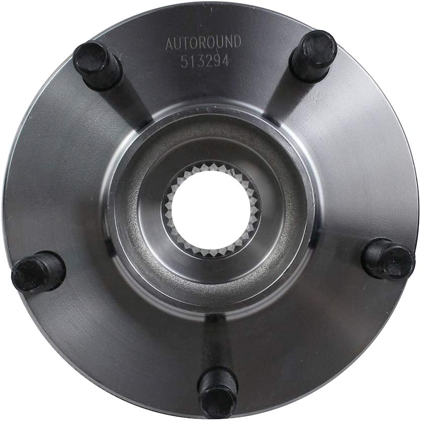 Autoround 513294 Front Wheel Hub and Bearing Assembly Fit for Nissan Altima 2007-2012 2.5L FWD