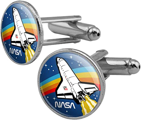 Amazon Com Graphics More Nasa Logo Over Space Shuttle With