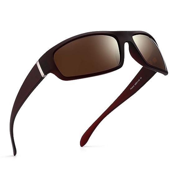 JM Polarizadas Deportivas Gafas de Sol Para Mujer Hombre Béisbol Correr Ciclismo Pescar Conducir Golf