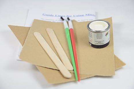 Kit de retoque de pintura para horno microondas, color ...