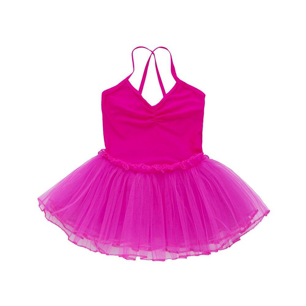 K-youth Maillot de Danza Vestido Maillot de Ballet para Niña Chica (1-6 Años) Tutú Vestidos de Princesa Gimnasia Leotardo Clásico Ballet Vestido para Niñas